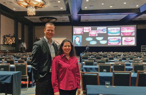 Dr. Shotell and her husband show their interdisciplinary treatment around the country at national meetings